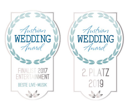 wedding award 2017 und 2019